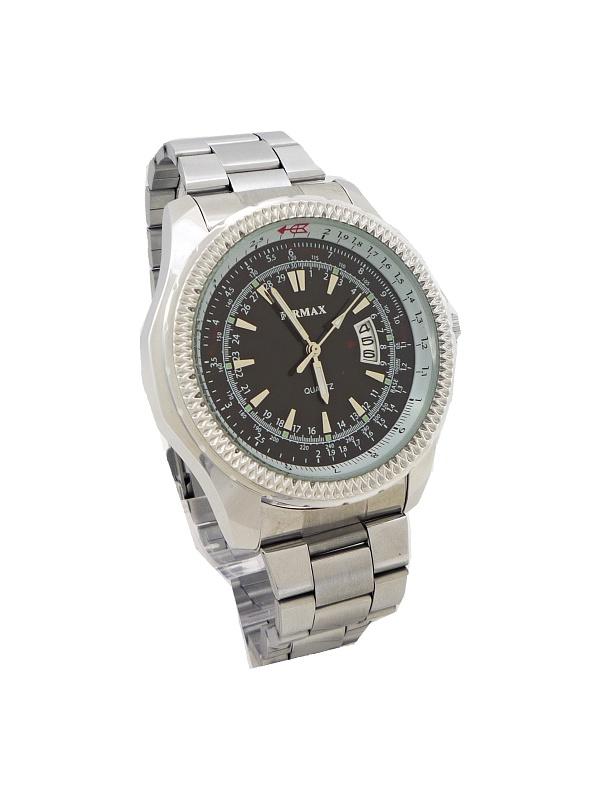 c183365d763 Pánské hodinky Firmax stříbrno-černé 070P