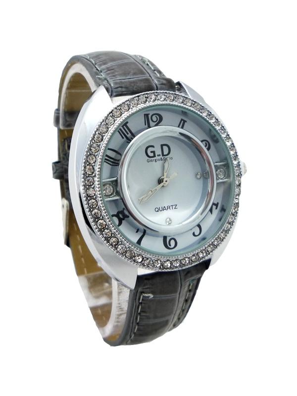 Dámské hodinky G.D Grey silver 206D