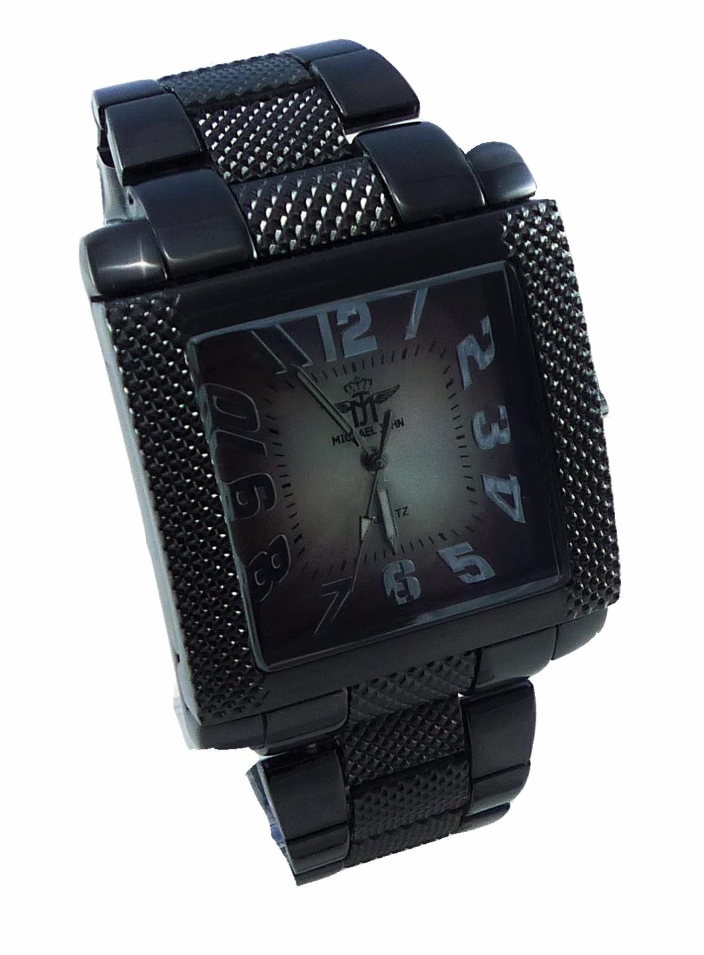 Hranaté pánské hodinky Kohn 068P