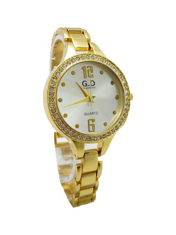 Dámské zlaté hodinky G.D Gold interesting 109D