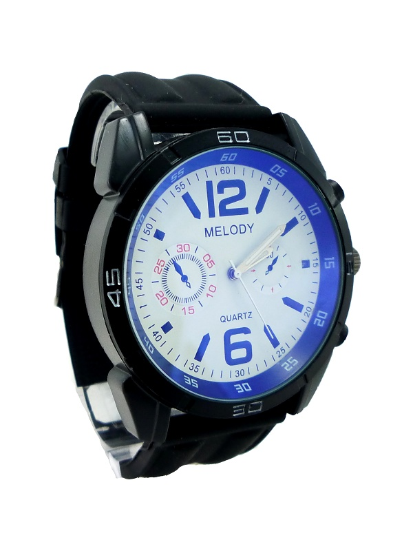 Pánské hodinky MELODY Black interest 218P