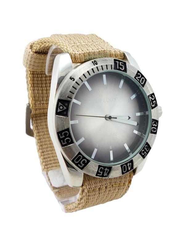 Pánské hodinky MELODY Beige silver 217P