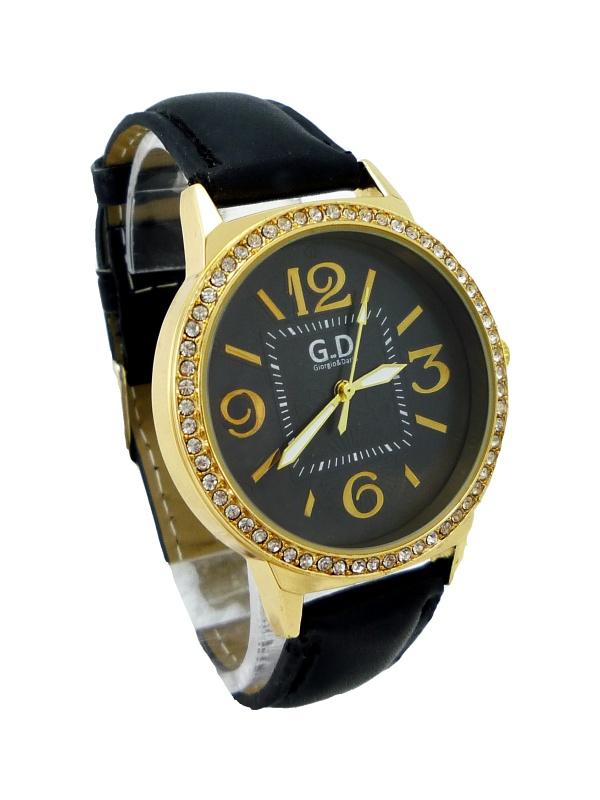 Dámské hodinky G.D Black gold 223D