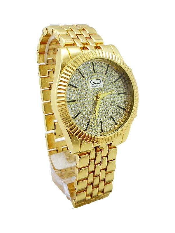 Dámské hodinky GD Extravagans zlaté 220D