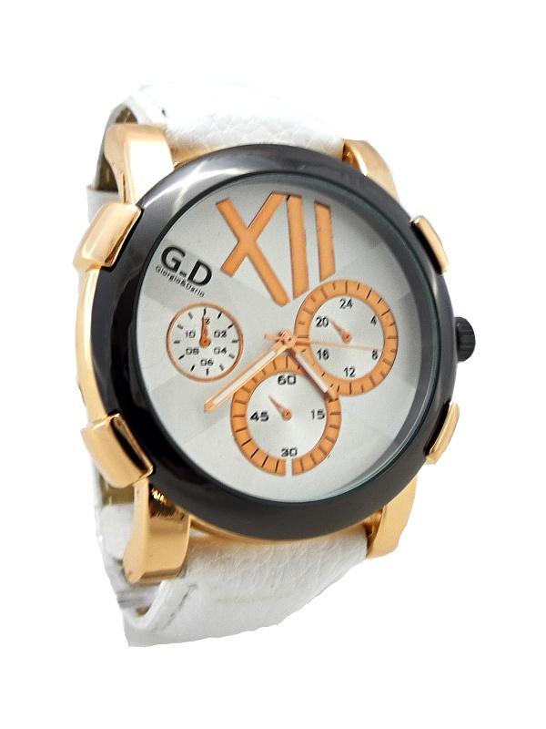 Pánské hodinky GD Rose GOLD white 234P
