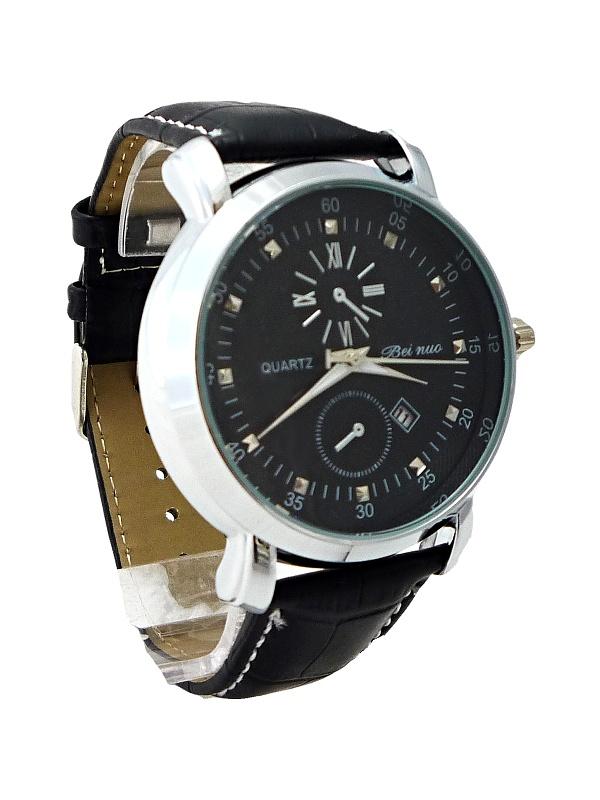 Pánské hodinky Beinuo Quartz black 233P