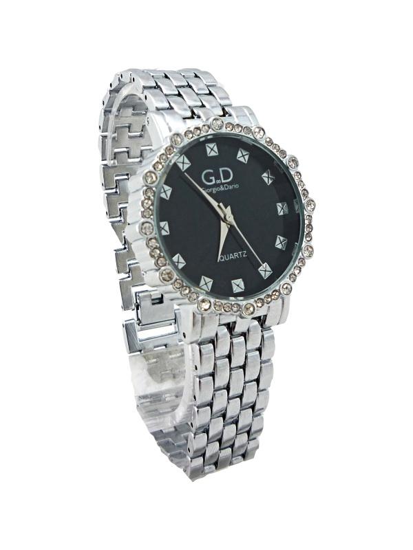 Dámské hodinky G.D Silver black fine 235D