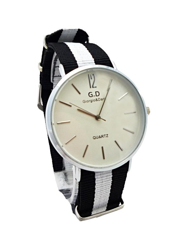 Pánské hodinky G.D Unisex Silver black 241P
