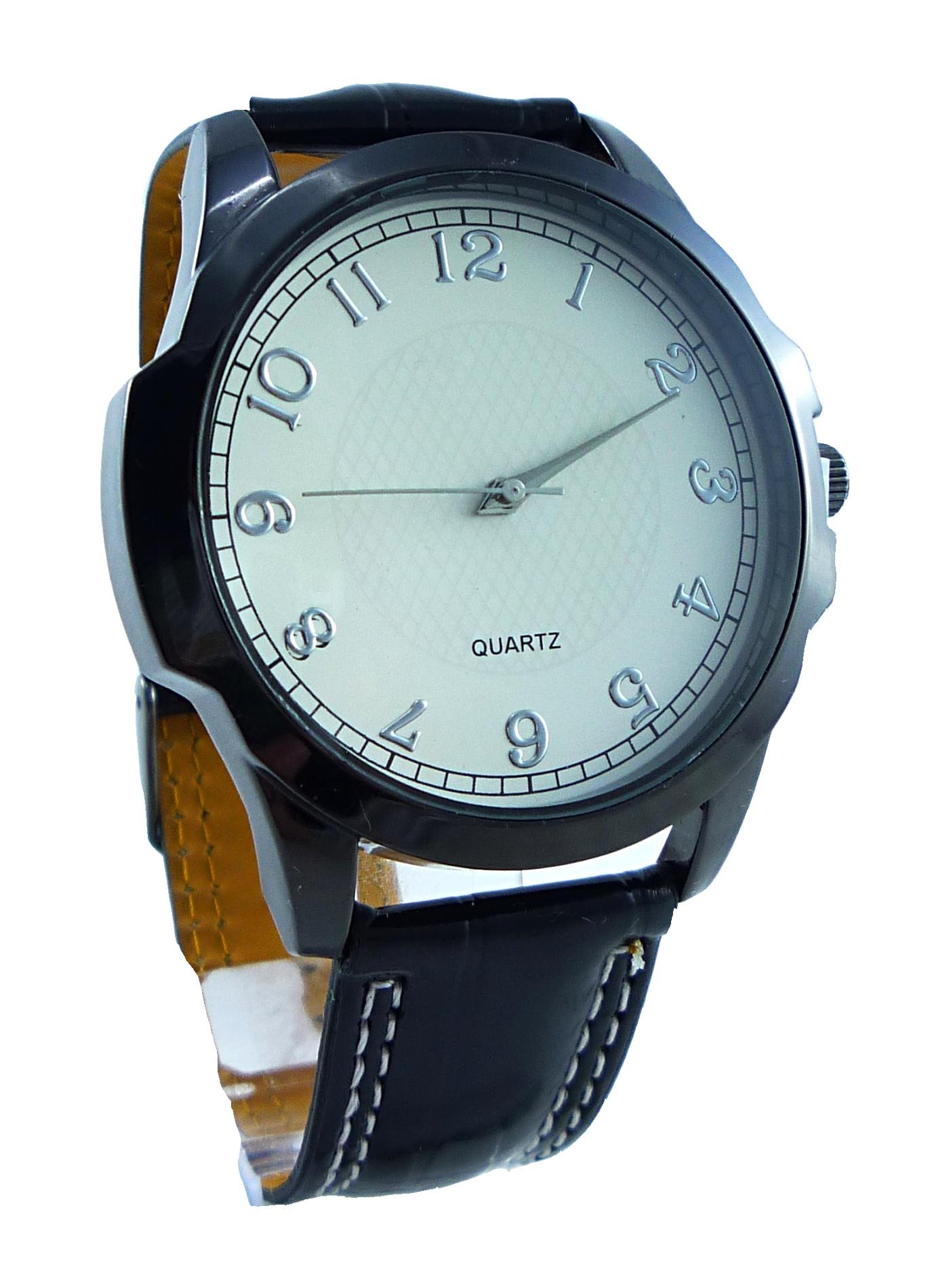 Pánské hodinky Ernesto Black white 049P