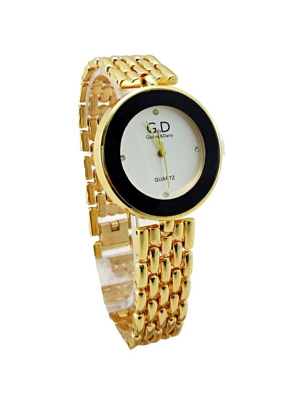 Dámské zlaté hodinky G.D Gold delikte 266D