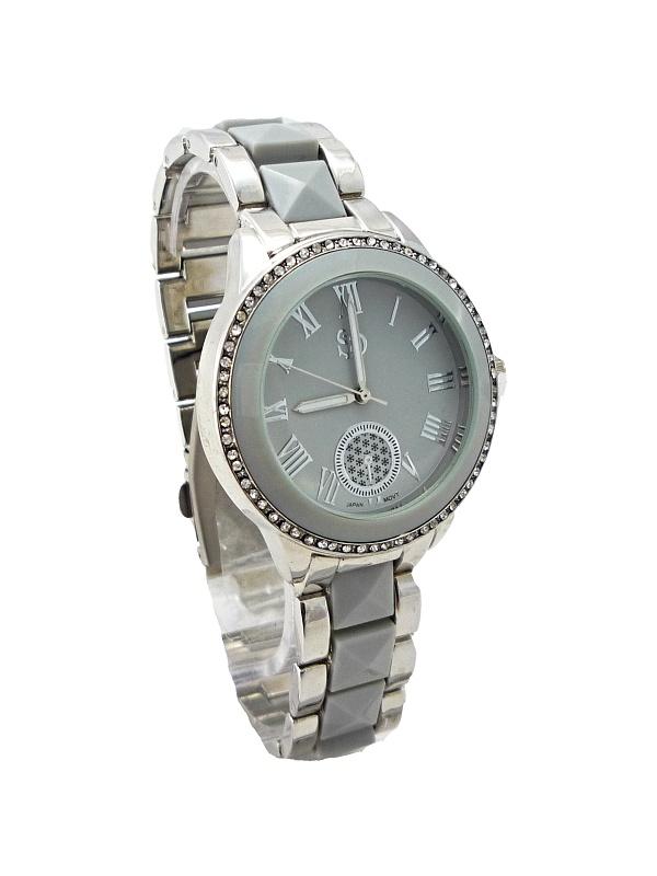 Dámské stříbrné hodinky SD Silver grey 268D