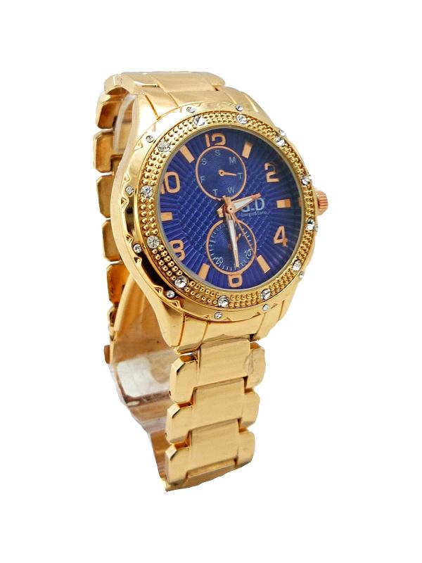 Dámské hodinky G.D bronzové 261D