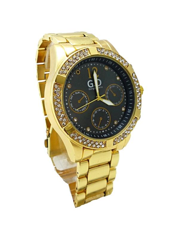 Dámské hodinky G.D Elegants zlaté 256D df8bd90e79