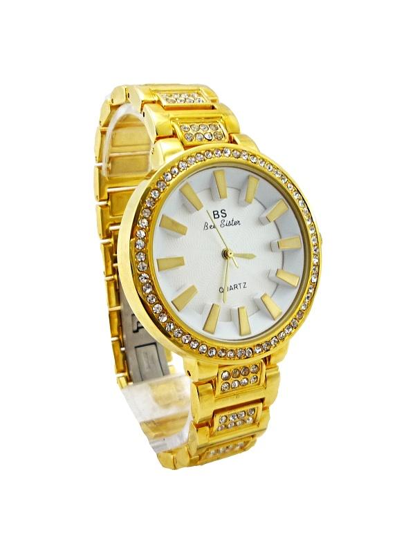 Dámské hodinky BS Quartz Gold Bee sister 274D