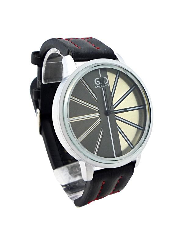 Pánské hodinky G.D NEW stříbrno-černé 071P