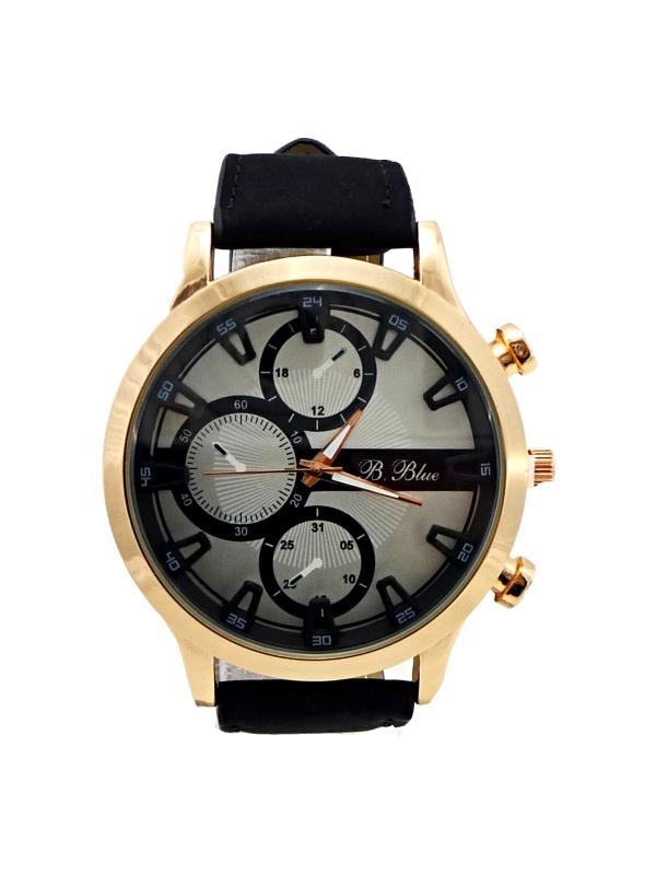 Pánské hodinky B.BLUE Black white 044P