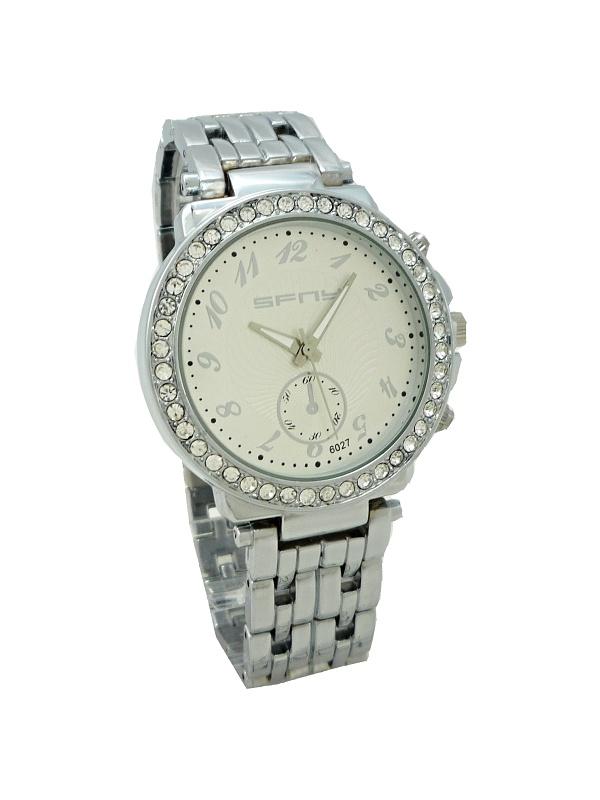 Dámské hodinky SFNY stříbrné 009D