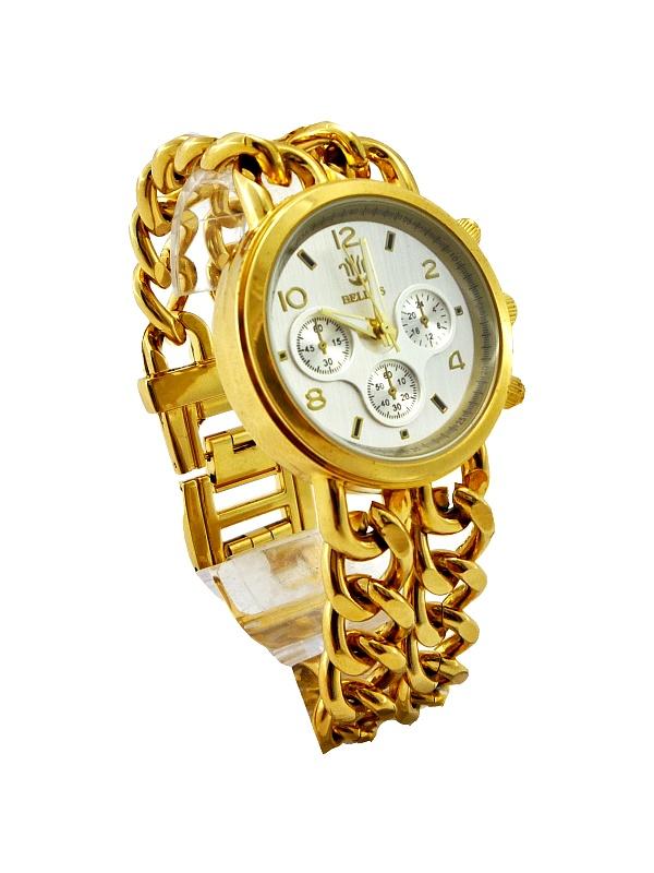 Dámské hodinky Bellos Extravagant zlaté 299D