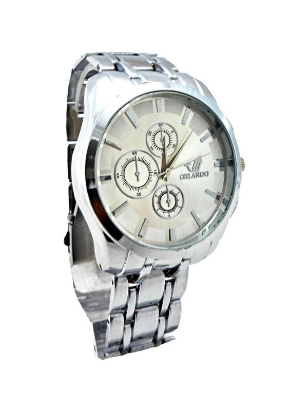 Pánské elegantní hodinky Orlando stříbrné 012P