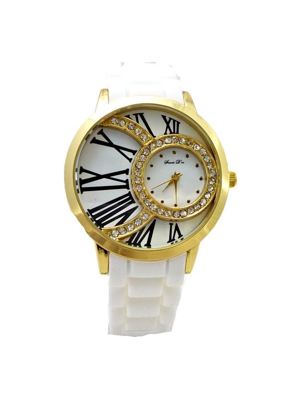 Dámské hodinky Dorris Dor luxory bílé 279D