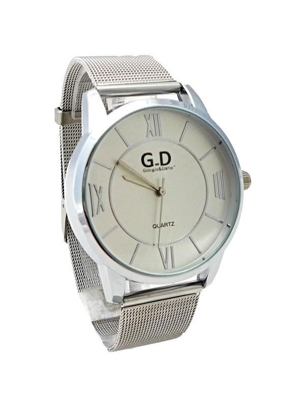 Dámské stříbrné hodinky G.D Silver Prettily 292D