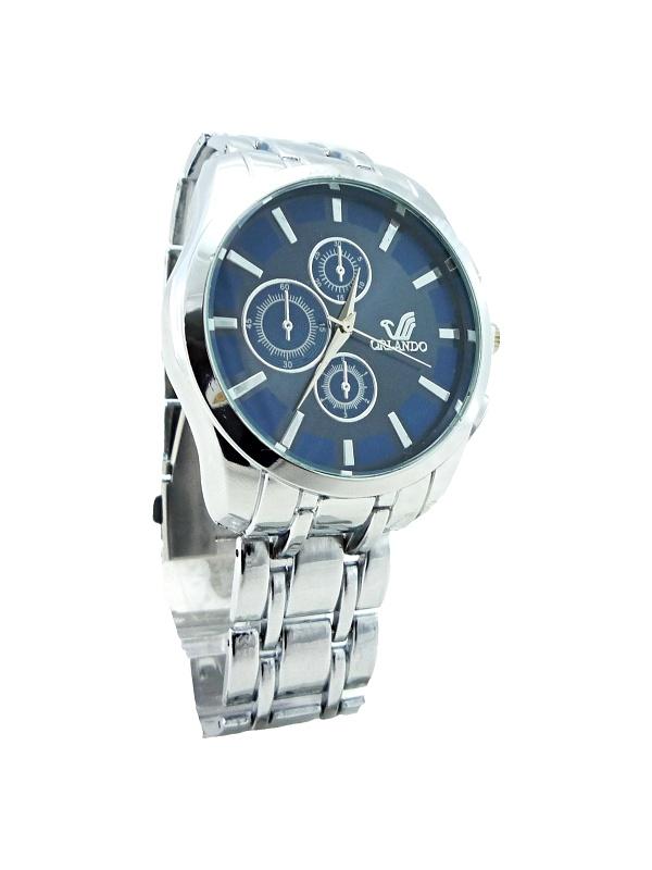 Pánské elegantní hodinky Orlando Silver blue 273P