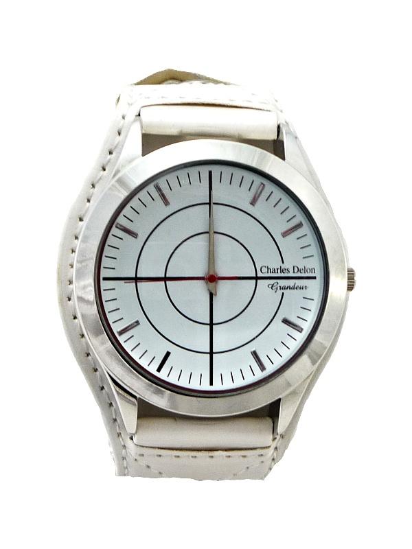 Pánské hodinky CHARLES Delon White 264P