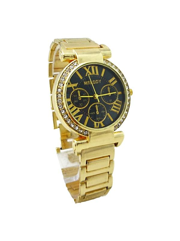 Dámské hodinky Melody Elegants zlaté 337D