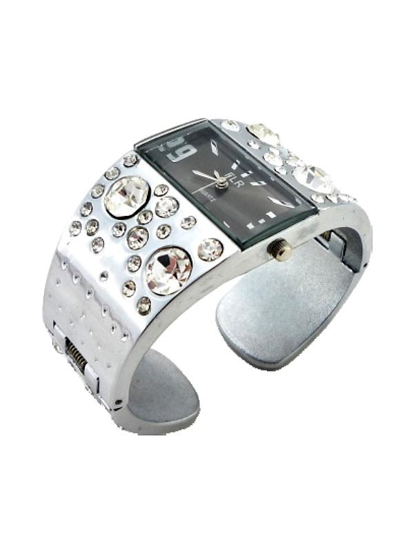 Dámské náramkové hodinky FLR Silver extra 343D