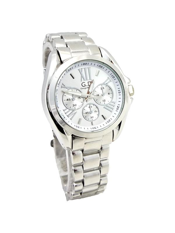 Dámské stříbrné hodinky G.D Luxor Silver 315D