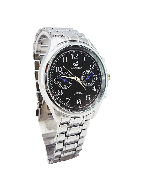 Pánské elegantní hodinky Orlando Nice stříbrné 275P