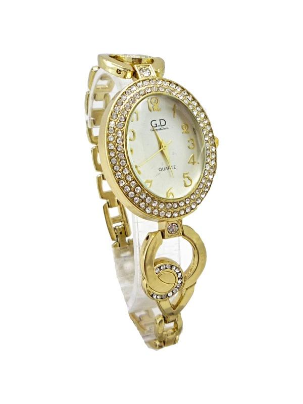 Dámské zlaté hodinky G.D Gold Pretty 064D