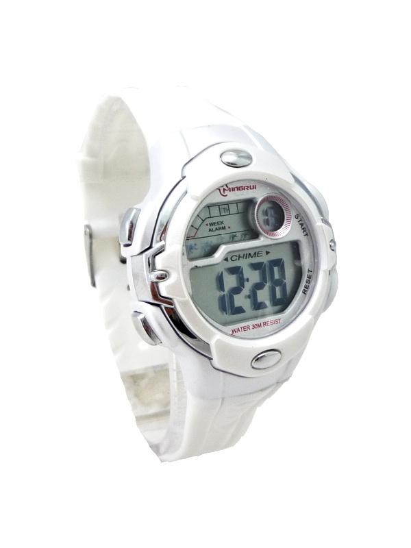 Digitální hodinky Mingrui White 360D