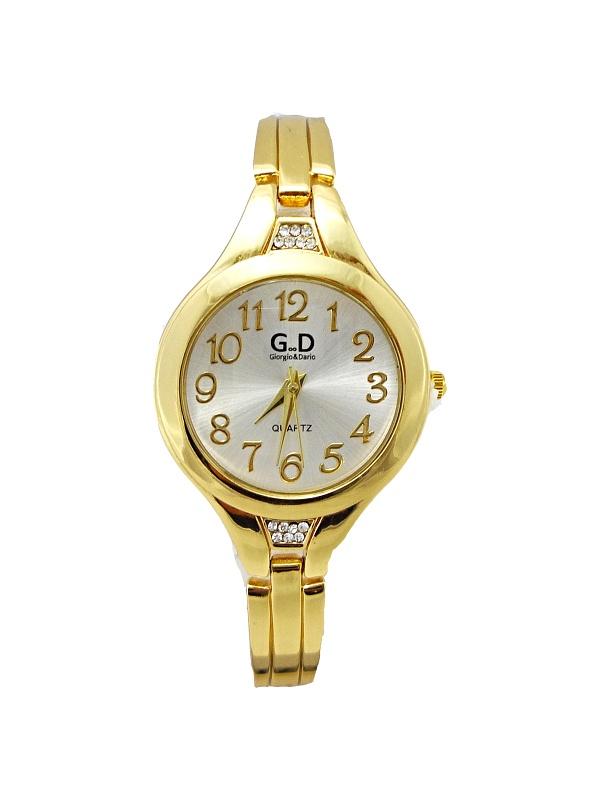 Dámské zlaté hodinky G.D Gold Singular 284D