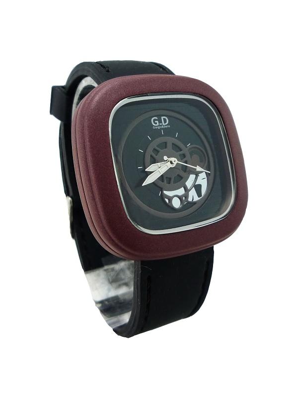 Pánské sportovní hodinky G.D Black brown 265P