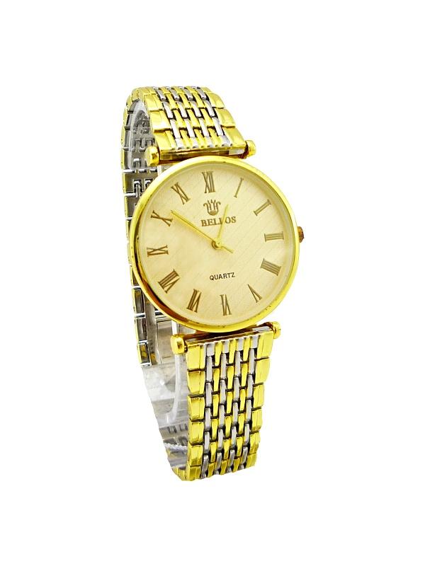 Dámské zlaté hodinky BELLOS Gold Sapid 307D