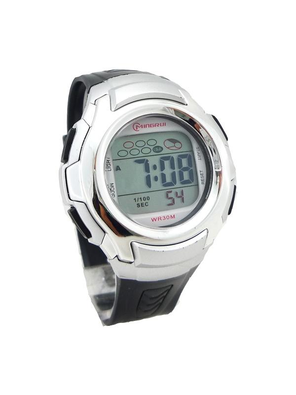 Pánské stříbrné hodinky G.D černé 276P 5cd41fbe0d
