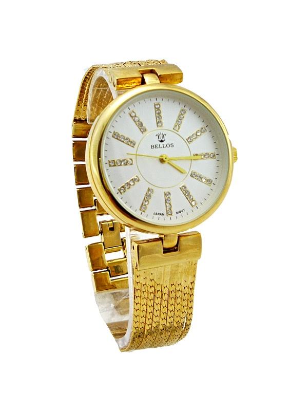 Dámské zlaté hodinky BELLOS Gold Fancy 301D