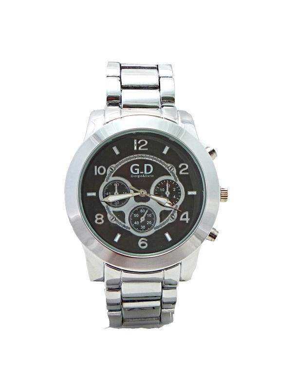 Pánské elegantní hodinkyG.D stříbrné 284P