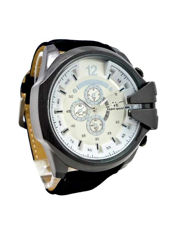 Pánské hodinky V6 Super speed černé 285XP