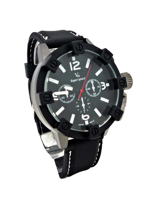 Pánské hodinky V6 Super speed black 287XP