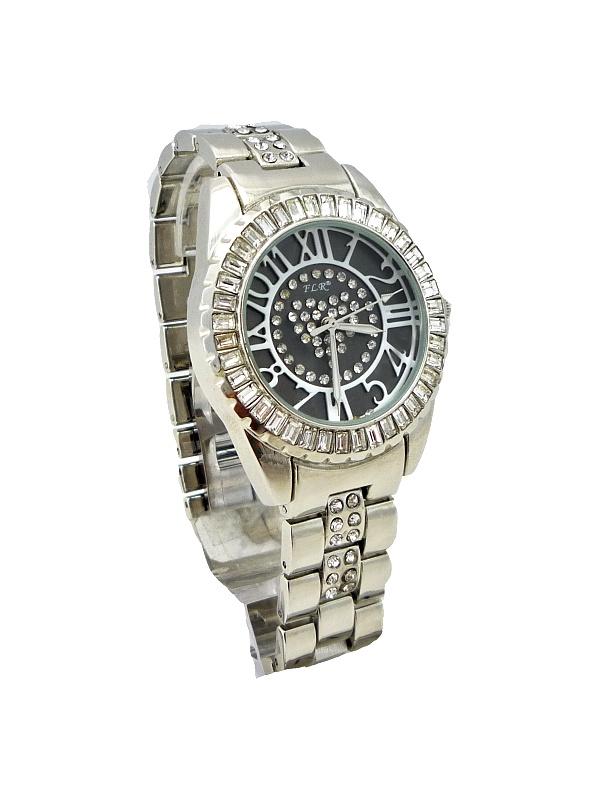 Dámské hodinky FLR Extra stříbrné 041D