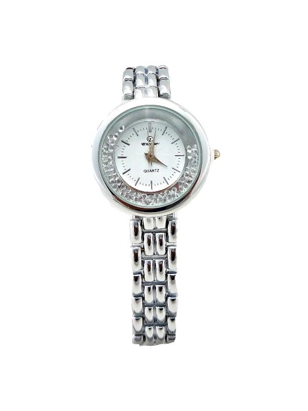 Dámské hodinky s plovoucími kamínky CHTIME Silver bland 366D