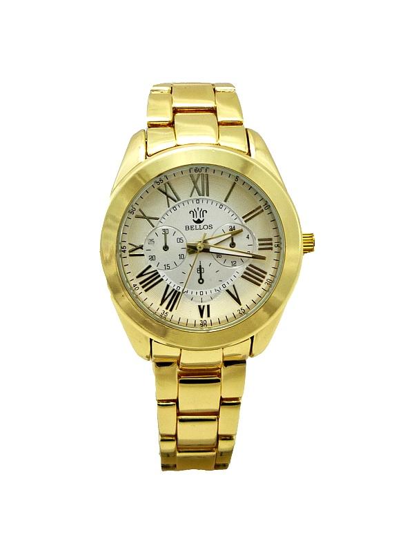 Dámské hodinky Bellos Remarkable zlaté 325D