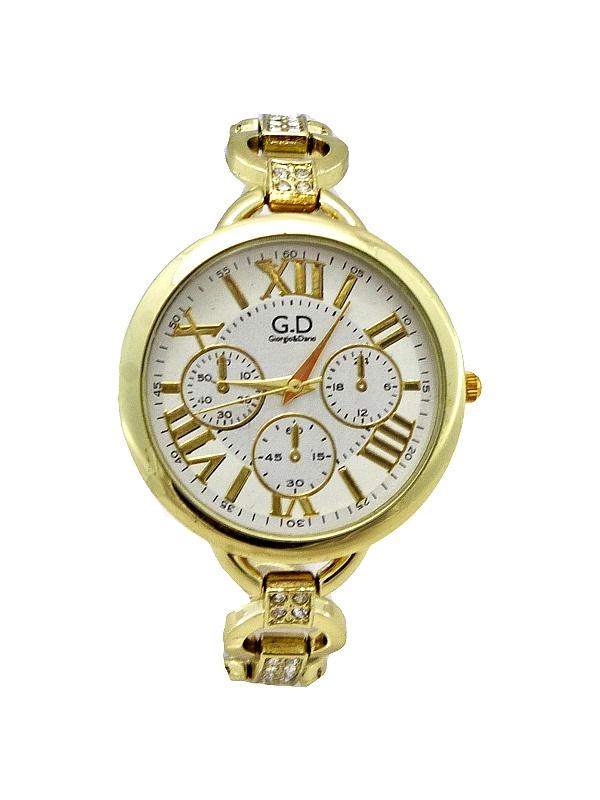 Dámské zlaté hodinky G.D Gold Specious 333D