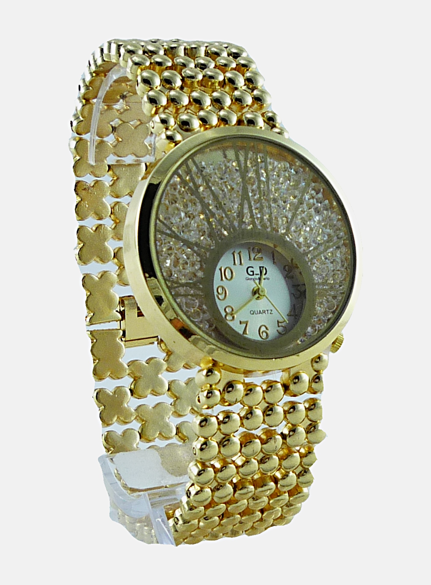 Dámské zlaté hodinky GD Gold extra 059D