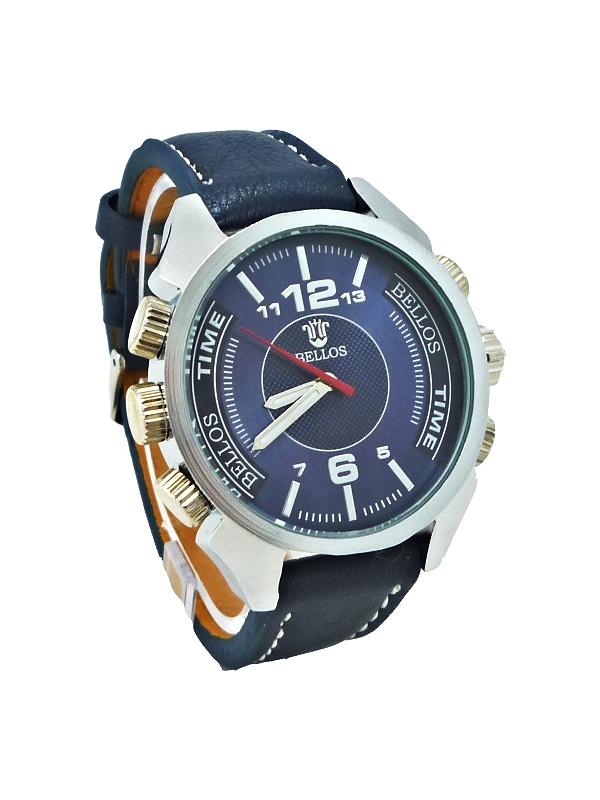 Pánské hodinky BELLOS Purely modré 116P
