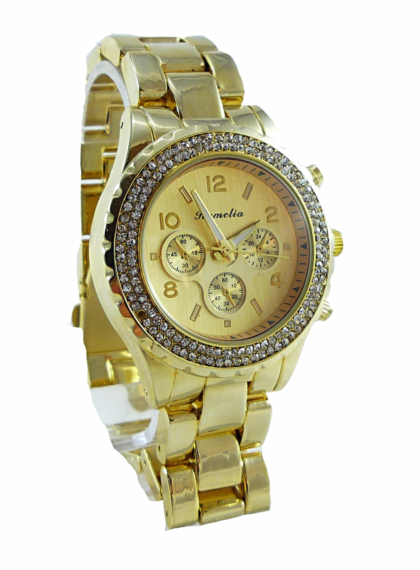 Dámské hodinky Camelia Simply zlaté 147D