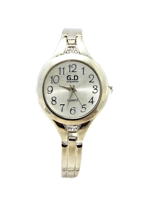Dámské stříbrné hodinky G.D Silver Singular 283D