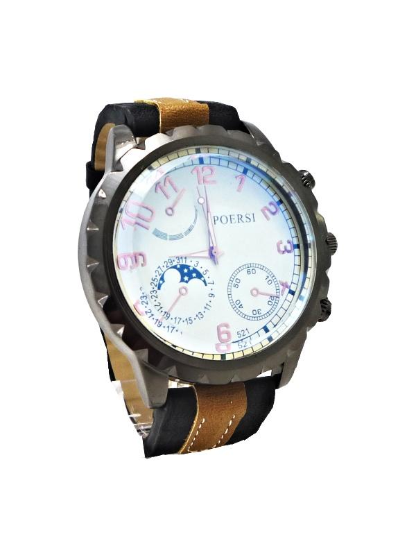 680169a18cd Pánské hodinky POERSI Modern černé 149ZP